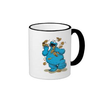 Cookie Monster Crazy Cookies Coffee Mugs