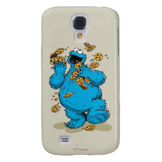 Cookie Monster Crazy Cookies Samsung Galaxy S4 Cover