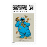 Cookie Monster Crazy Cookies Stamp