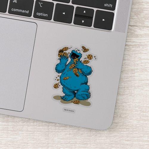 Cookie Monster Crazy Cookies Sticker