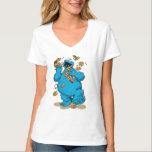 "Cookie Monster Crazy Cookies T-Shirt<br><div class=""desc"">Cookie Monster goes crazy over cookies!       &#169;  2014 Sesame Workshop. www.sesamestreet.org</div>"