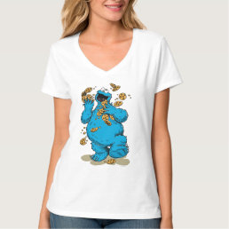 Cookie Monster Crazy Cookies T-Shirt