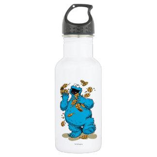 Cookie Monster Crazy Cookies Water Bottle