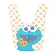 Cookie Monster Eating Cookie Bib