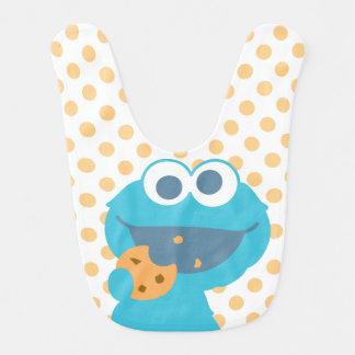 Cookie Monster Eating Cookie Bib