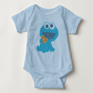 Cookie Monster Eating Cookie Tee Shirt