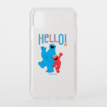 Cookie Monster & Elmo Hello! Speck iPhone X Case