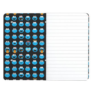 Cookie Monster Emoji Pattern Journal