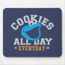 Cookie Monster Everyday Mouse Pad