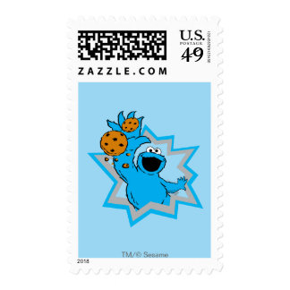 Cookie Monster Extreme Stamp