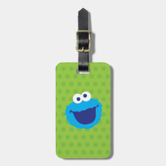 Cookie Monster Face 2 Bag Tag
