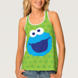 Cookie Monster Face 2 Tank Top