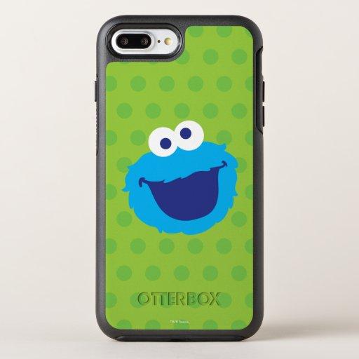Cookie Monster Face OtterBox Symmetry iPhone 8 Plus/7 Plus Case