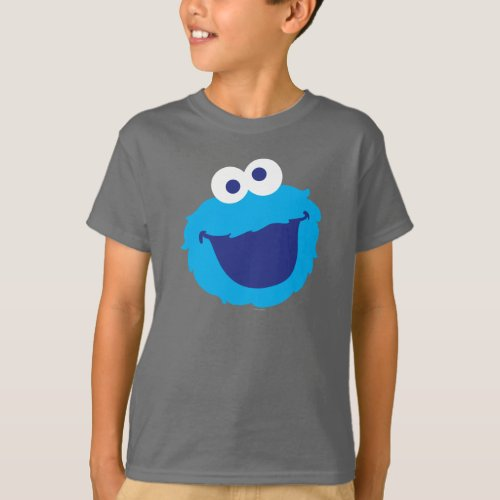 Cookie Monster Face T_Shirt