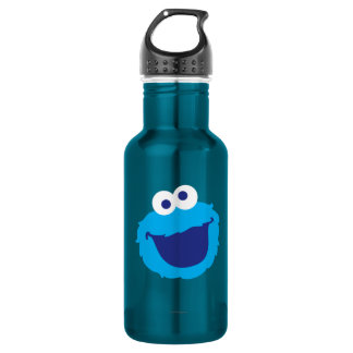 Cookie Monster Face Water Bottle