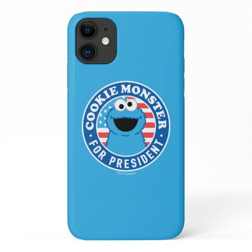 Cookie Monster for President iPhone 11 Case