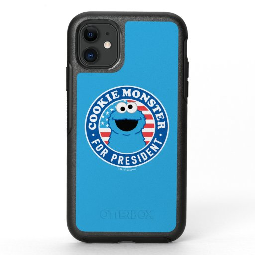 Cookie Monster for President OtterBox Symmetry iPhone 11 Case