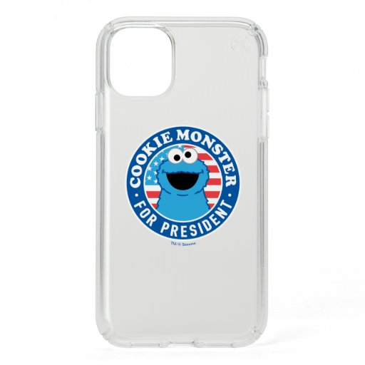 Cookie Monster for President Speck iPhone 11 Case
