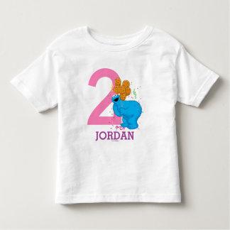 Cookie Monster Girls Birthday Toddler T-shirt