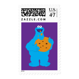 Cookie Monster Graphic Postage
