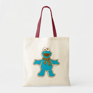 Cookie Monster Holiday Tote Bag