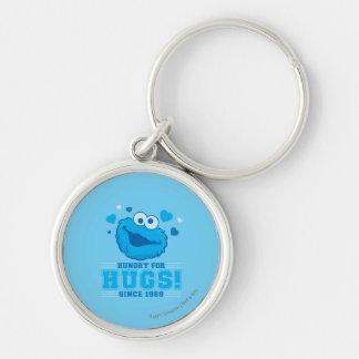 Cookie Monster Hugs Keychain