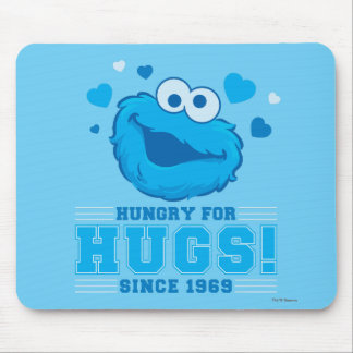 Cookie Monster Hugs Mouse Pad
