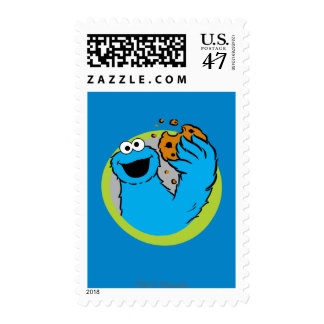 Cookie Monster Image Postage