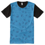 Cookie Monster | Me Awesome Blue Pattern All-Over-Print Shirt