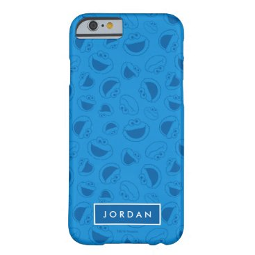 Cookie Monster | Me Awesome Blue Pattern Barely There iPhone 6 Case