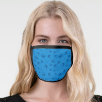 Cookie Monster | Me Awesome Blue Pattern Face Mask