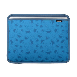 Cookie Monster | Me Awesome Blue Pattern MacBook Sleeve