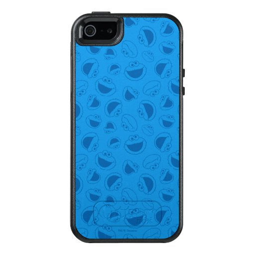 Cookie Monster | Me Awesome Blue Pattern OtterBox iPhone 5/5s/SE Case