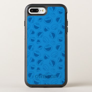 Cookie Monster | Me Awesome Blue Pattern OtterBox Symmetry iPhone 8 Plus/7 Plus Case