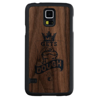 Cookie Monster Me Gets Dough Carved® Walnut Galaxy S5 Case