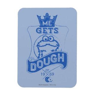 Cookie Monster Me Gets Dough Magnet