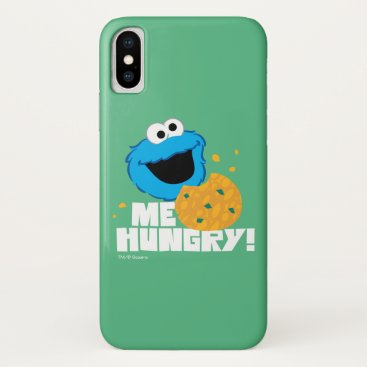 Cookie Monster | Me Hungry! iPhone X Case