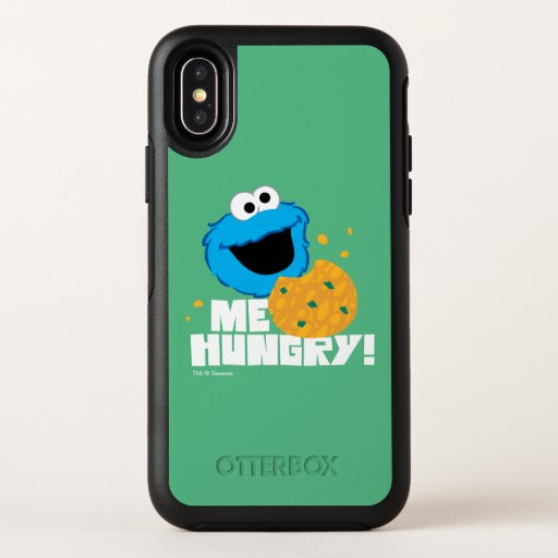 Cookie Monster | Me Hungry! OtterBox Symmetry iPhone X Case