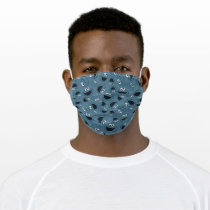 Cookie Monster | Me Hungry Pattern Adult Cloth Face Mask