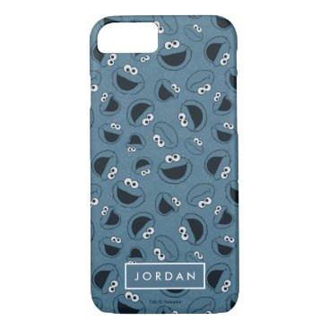 Cookie Monster | Me Hungry Pattern iPhone 8/7 Case