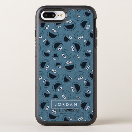 Cookie Monster | Me Hungry Pattern OtterBox Symmetry iPhone 8 Plus/7 Plus Case
