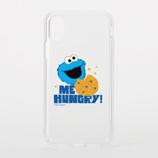 Cookie Monster | Me Hungry! Speck iPhone X Case