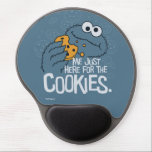 "Cookie Monster | Me Just Here for the Cookies Gel Mouse Pad<br><div class=""desc"">Cookie Monster takes a big chomp out of his favorite treat! 