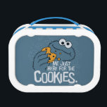 """Cookie Monster   Me Just Here for the Cookies Lunch Box<br><div class=""""desc"""">Cookie Monster takes a big chomp out of his favorite treat!   &#169; 2017 Sesame Workshop. www.sesamestreet.org</div>"""