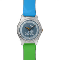 Cookie Monster | Me Just Here for the Cookies Wristwatch