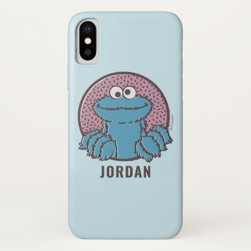 Cookie Monster | Om Nom Nom iPhone X Case