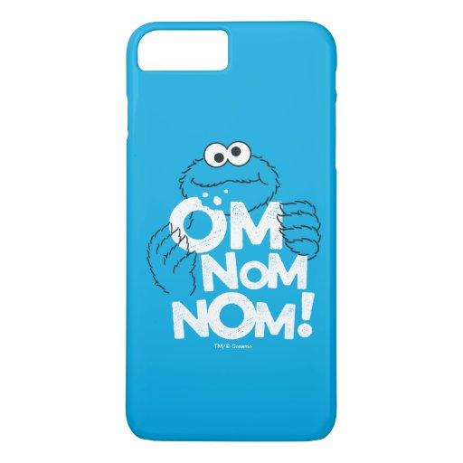 Cookie Monster | Om Nom Nom! iPhone 8 Plus/7 Plus Case
