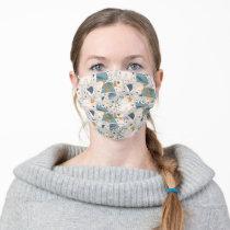 Cookie Monster | Om Nom Nom Comic Pattern Adult Cloth Face Mask