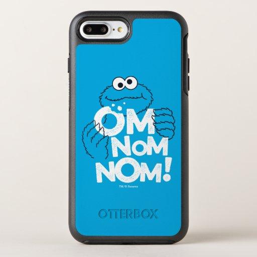 Cookie Monster | Om Nom Nom! OtterBox Symmetry iPhone 8 Plus/7 Plus Case