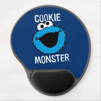 Cookie Monster Pattern Face Gel Mouse Pad